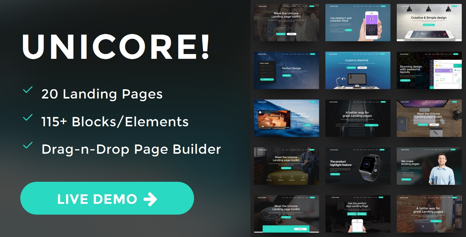 Simple Bootstrap Agency Theme Creator