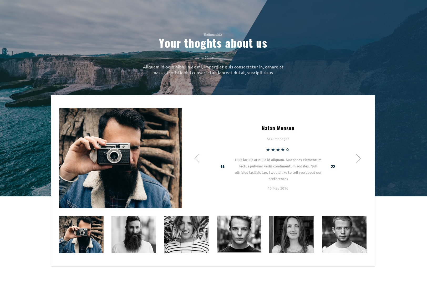 HTML Bootstrap Travel Theme
