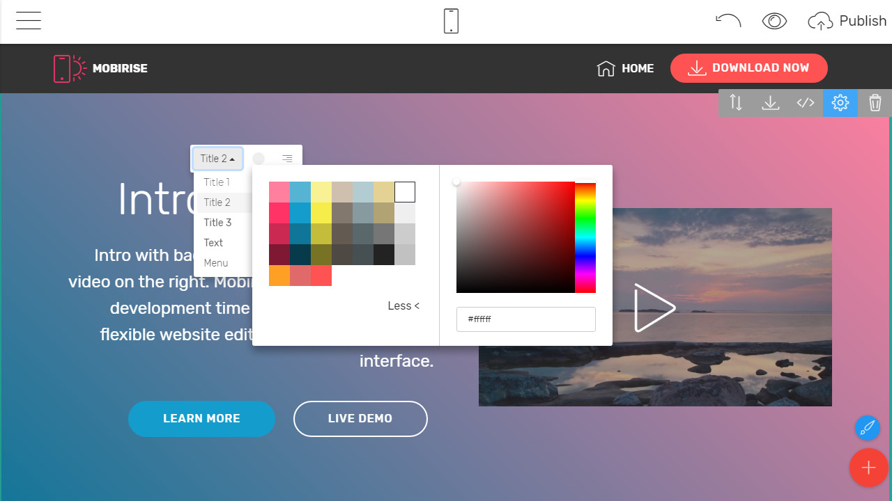 free web page builder